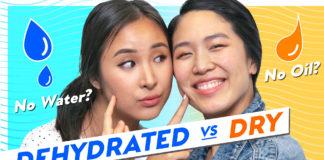 dry dehydrated skin