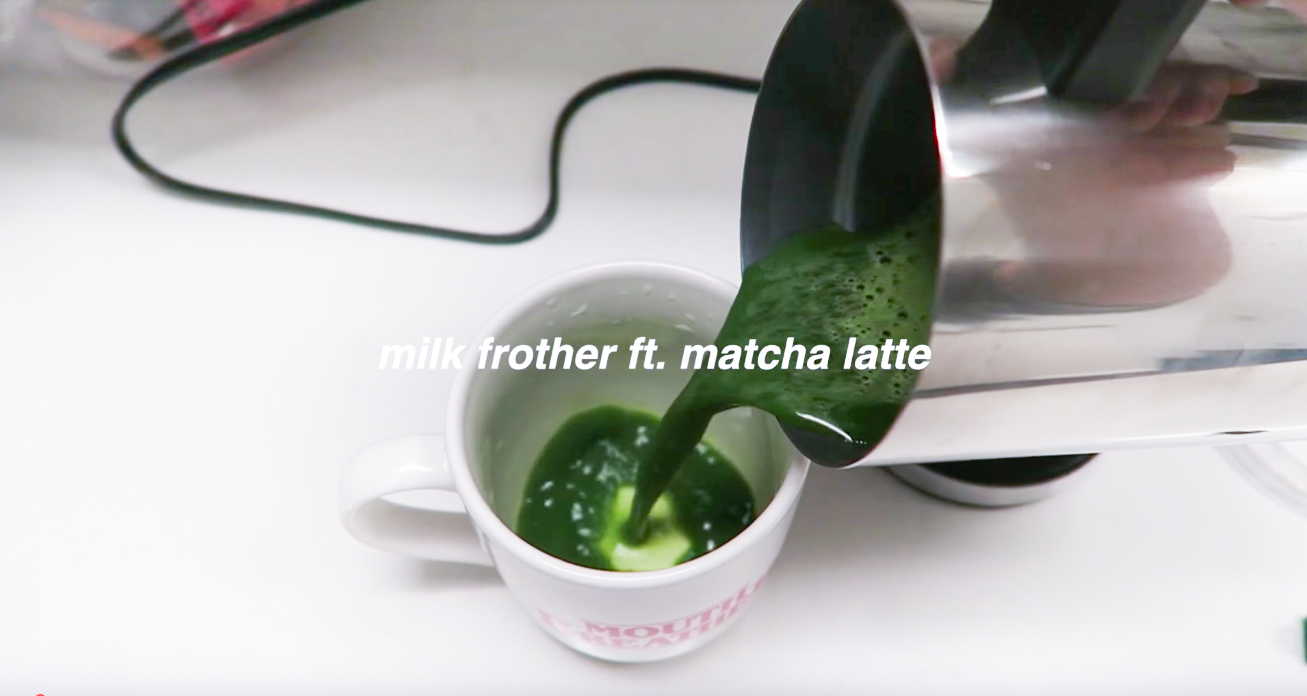 how to make matcha with milk frother