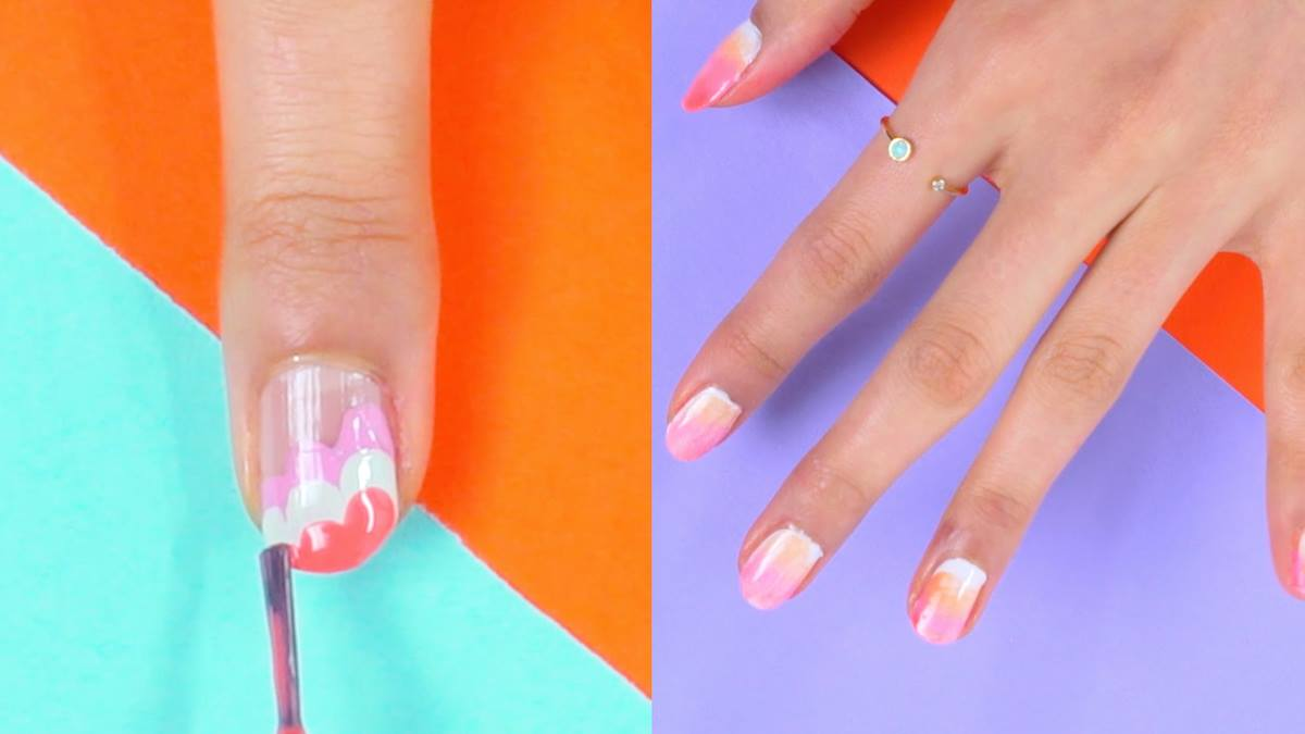 Nail Art For Beginners 7 Easy Nail Designs To Do At Home Best For Her
