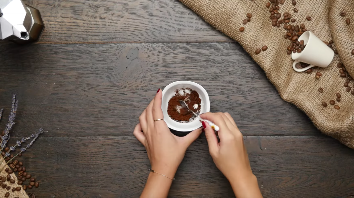 diy coffee scrub 3